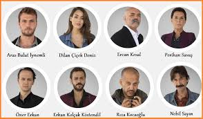 elenco y personajes de cukur