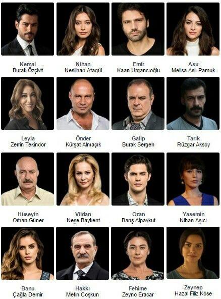 Kara Sevda elenco reparto actores
