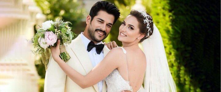 burak y esposa