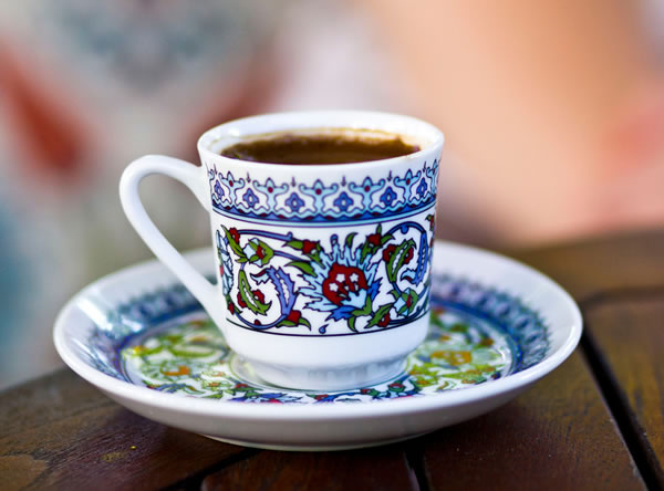 taza de cafe turco