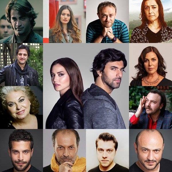 reparto de Hasta la Muerte novela turca