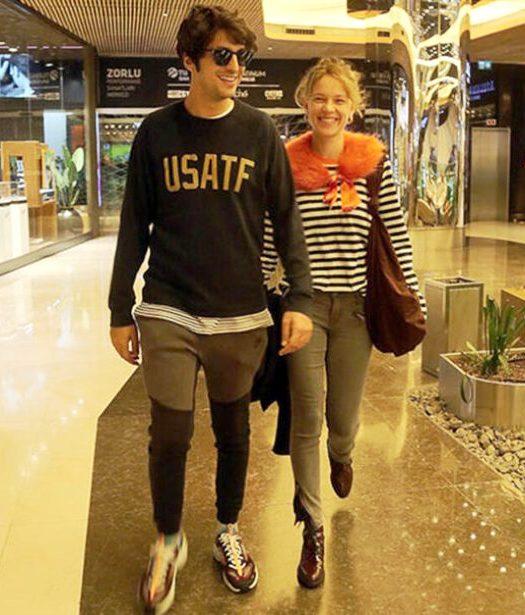 Taner y su novia Ece