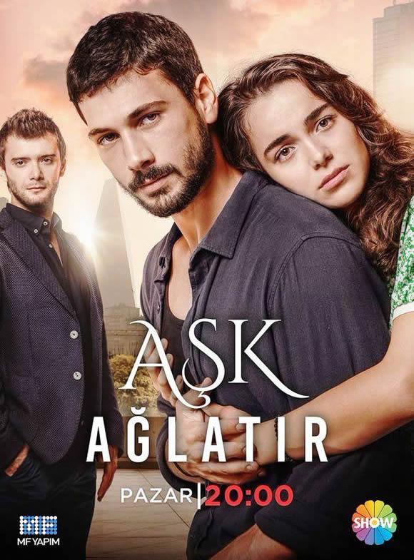 ask aglatir serie turca
